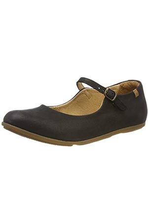 El Naturalista Damen N5203 Pleasant Mary Jane Halbschuhe, (Black Black)