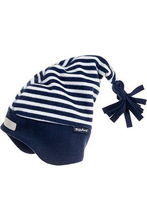 Playshoes Jungen Fleece-Zipfelmütze maritim Mütze