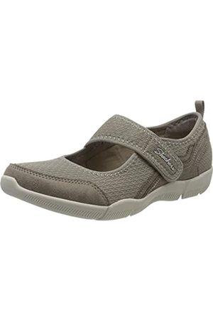 Skechers Damen BE-LUX Sneaker, (Taupe TPE)