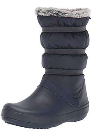 Crocs Damen Crocband Winter Boot Women Schneestiefel, (Navy)