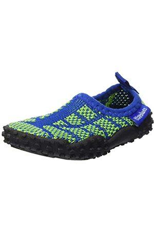 Playshoes Unisex-Kinder Strick Aqua Schuhe, ( / 791)