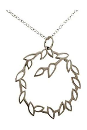 GemShine Damen - Halskette - Anhänger - GARLAND - 925 - Lotus Blumen - LEAVES - 3