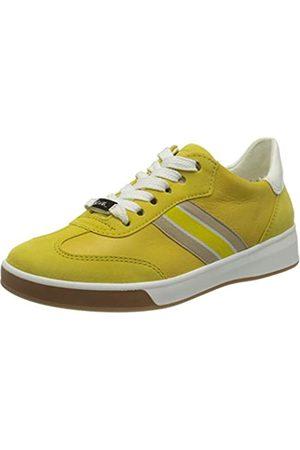 ARA Damen ROM 1234434 Sneaker, (Yellow, Weiss 07)