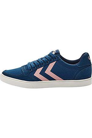 Hummel Damen Slimmer Stadil HB Low Sneaker, (Blue Wing Teal 1107)