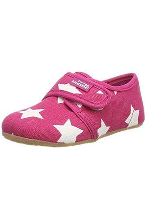 Living Kitzbühel Unisex-Kinder Klettmodell Sterne Niedrige Hausschuhe, Pink (Magenta 360)