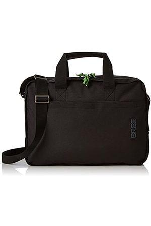 Bree Collection Unisex-Erwachsene Punch Style 67, Briefcase Schultertasche, (Black)