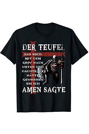 c. 1119 Der Teufel hat mich gesehen. Tempelritter T-Shirt