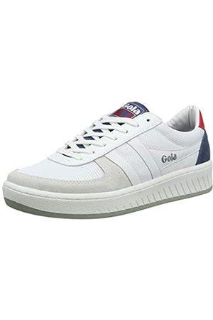 Gola Herren Cma588 Sneaker, (White/Baltic/RED WE)