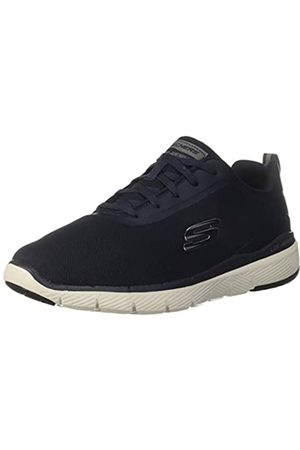 Skechers Herren Flex Advantage 3.0 Landess Sneaker, (Navy Knit/Synthetic/Trim NVY)