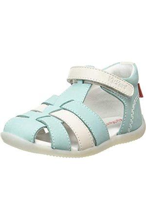 Kickers Baby Mädchen Bigflo-2 Sandalen, (Bleu Blanc 53)
