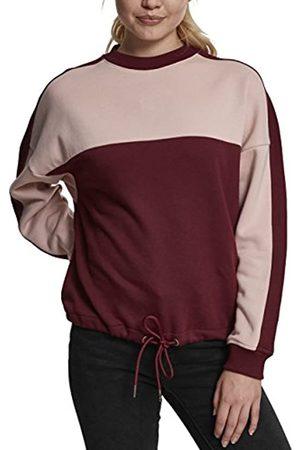 Urban classics Damen Ladies Oversize 2-Tone Stripe Crew Pullover