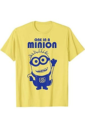 Minions One In A Minion Purple Minion Drawing T-Shirt