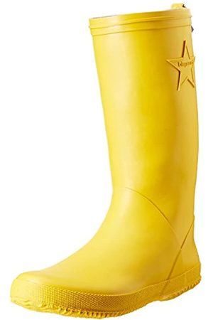 Bisgaard Unisex-Kinder Rubber Boot Star Gummistiefel, (80 Yellow)