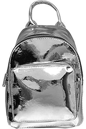 Urban classics Mini Metallic Backpack Rucksack, 24 cm, 2