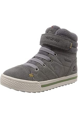Viking Unisex-Kinder Eagle IV GTX Hohe Sneaker, (Grey 3)