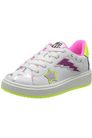 Primigi Mädchen Scarpa Bambina Sneaker, (Bianco 5375400)