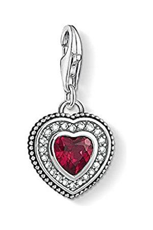 Thomas Sabo Damen-Anhänger Herz mitem Stein 925 Sterling Silber 1478-640-10