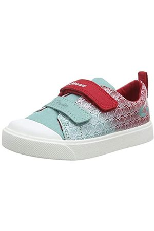 Clarks Unisex-Kinder City Shell T Sneaker, (Red Interest Red Interest)