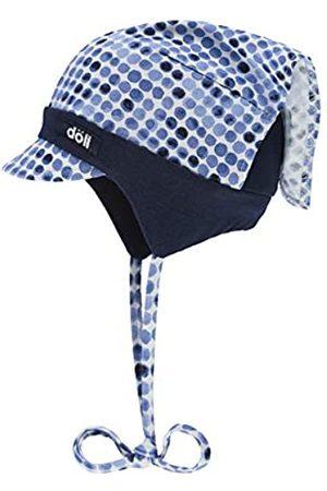 Döll Baby-Mädchen Kopftuchmütze mit Schirm zum Binden Jersey Sonnenhut|
