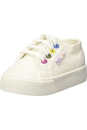 Superga Mädchen 2730-COTJ Colors Hearts Sneaker, (White 901)