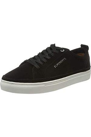Superdry Herren Truman Premium LACE UP Sneaker, (Black 02a)