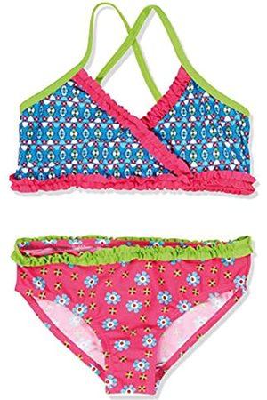 Playshoes Mädchen Zweiteiler Bikini Blumen, UV-Schutz nach Standard 801 und Oeko-Tex Standard 100