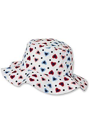 Sterntaler Hut für Mädchen mit buntem Herzchen-Motiv, Alter: 4-6 Jahre