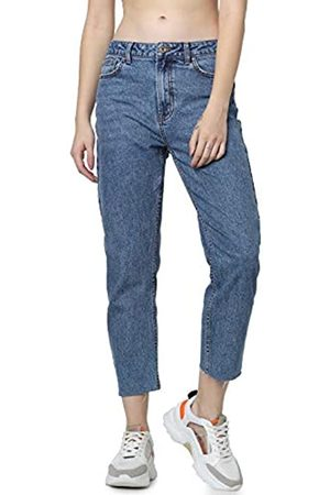 Only Damen Straight Jeans onlEMILY HW ST RAW JNS DB MAE 0005 NOOS