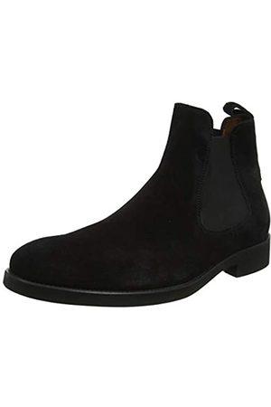 Lottusse Herren L6607 Chelsea Boots, (Buckster Negro Buckster Negro)