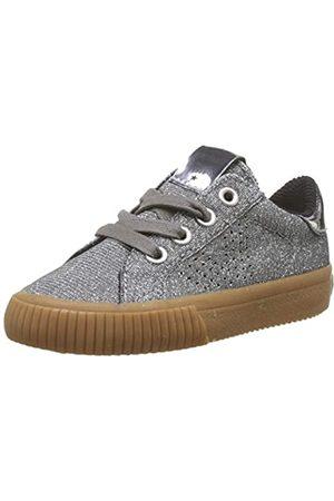 victoria Unisex-Kinder Deportivo Lurex Sneaker, (Plata 14)