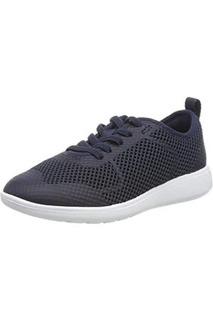 Clarks Jungen Scape Soar K Sneaker (Navy Synthetic)