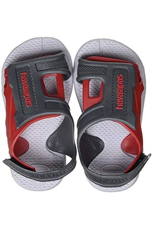 Havaianas Unisex-Kinder Move Sandalen, (Ice Grey/Grey 5233)