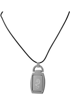 Akzent Damen-Anhnger Edelstahl mit Kautschukkette 50cm 002650000064