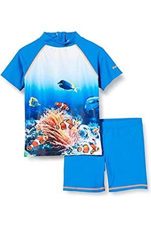 Playshoes Jungen Unterwasserwelt Schwimmshirt-Set