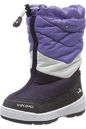 Viking Unisex-Kinder Halden GTX Schneestiefel, (Aubergine/Purple 8316)