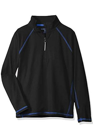 Amazon Jacke mit halblangem Reißverschluss, für Jungs, Black