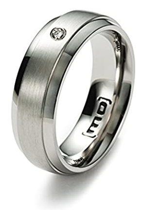 Monomania Damen-Ring Edelstahl Diamant Gr.51 (16.2) 25364-51