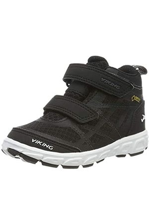 Viking Unisex-Kinder Veme Vel Mid GTX Hohe Sneaker, (Black/Charcoal 277)