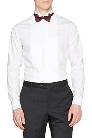 Seidensticker Herren Tailored Langarm mit Kläppchen-Kragen Umschlagmanschette bügelfrei Smokinghemd