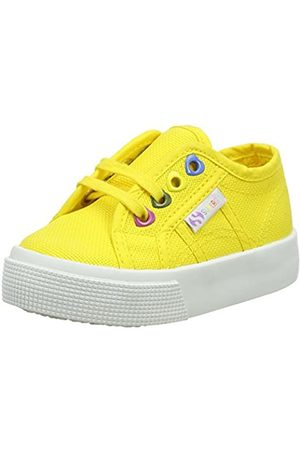 Superga Mädchen 2730-COTJ Colors Hearts Sneaker, (Yellow Sunflower 176)
