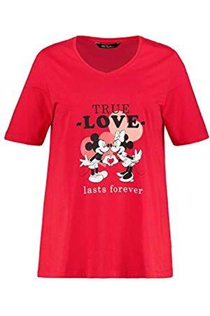 Ulla Popken Damen große Größen Mickey True Love, Classic T-Shirt