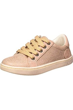 Kickers Mädchen Lykool Sneaker, Pink (Rose Leopard 131)