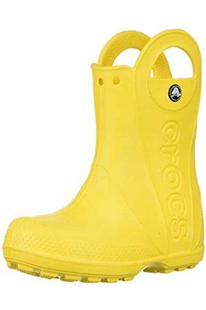 Crocs Handle It Rain Boot, Unisex - Kinder Gummistiefel, (Yellow)