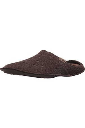Crocs Classic Slipper, Unisex-Erwachsene Ungefüttert Hausschuhe, (Espresso/Walnut)