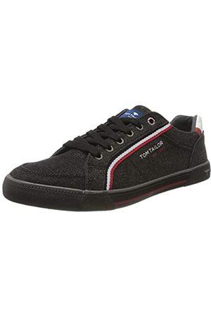 TOM TAILOR Herren 8080810 Sneaker, (Black 00001)