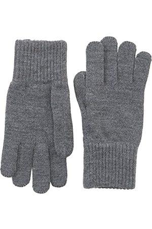 Wrangler Herren Basic Handschuhe, (Mid Grey Mel)