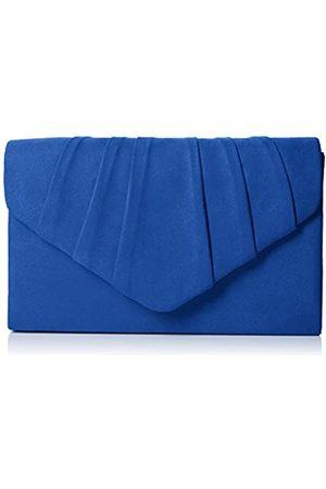 Swankyswans Damen Iggy Suede Velvet Envelope Party Prom Clutch Bag Tasche