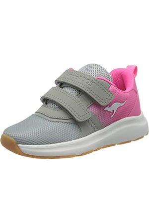 KangaROOS Unisex-Kinder KB-Agil V Sneaker, (Vapor Grey/Neon Pink 2094)