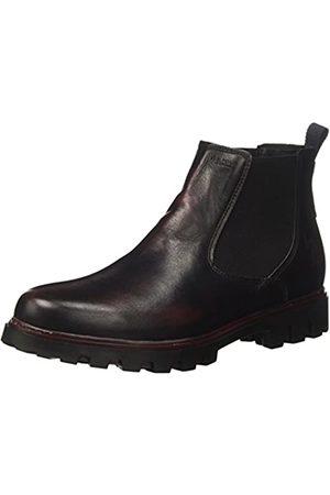 U.S. Polo Assn. Damen Spring Chelsea Boots, (Dark Grey/Bordeaux DKGR-BOR)