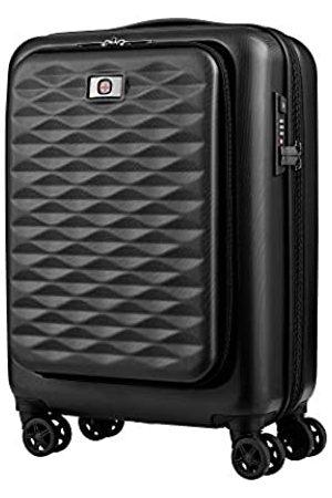 "Wenger Lumen 20"" Expandable Hardside Luggage Dual Access - Black Koffer, 54 cm"